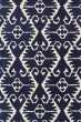 Product Image of Southwestern / Lodge Royal Blue, Ivory (C) Area Rug