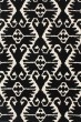 Product Image of Southwestern / Lodge Black, Ivory (D) Area Rug