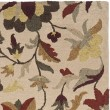 Product Image of Beige, Red (A) Floral / Botanical Area Rug