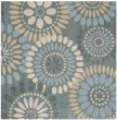 Product Image of Grey, Blue (A) Contemporary / Modern Area Rug
