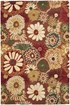 Product Image of Rust, Ivory (A) Floral / Botanical Area Rug
