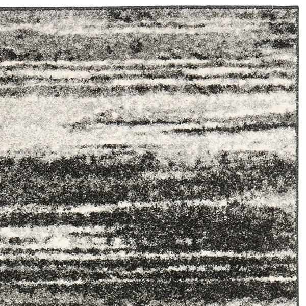 Dark Grey, Light Grey (8479) Transitional Area Rug