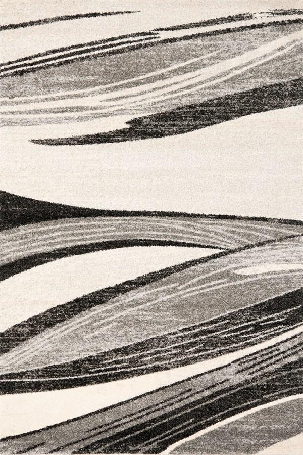 Light Grey, Ivory (7912) Transitional Area Rug