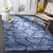 Product Image of Blue, Dark Blue (6570) Contemporary / Modern Area Rug