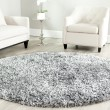 Product Image of Silver (S) Shag Area Rug
