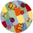 Product Image of Blue, Burgundy, Wine (A) Children's / Kids Area Rug