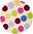 Product Image of Ivory, Pink (A) Children's / Kids Area Rug