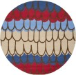 Product Image of Blue, Red (A) Children's / Kids Area Rug