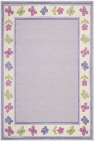 Lavender (A) Children's / Kids Area Rug