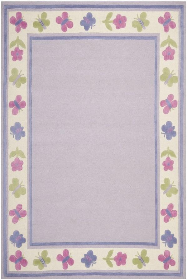 Lavender (A) Children's / Kids Area Rug