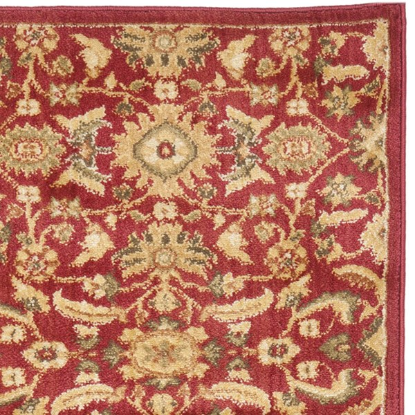 Red, Gold (1671-4020) Traditional / Oriental Area Rug