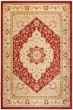 Product Image of Traditional / Oriental Red, Creme (4011) Area Rug