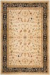Product Image of Traditional / Oriental Creme, Navy (1170) Area Rug