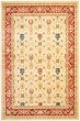Product Image of Traditional / Oriental Creme, Red (1140) Area Rug