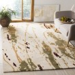 Product Image of Beige, Green (A) Contemporary / Modern Area Rug