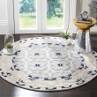 Product Image of Ivory, Blue (A) Traditional / Oriental Area Rug