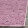 Product Image of Pink (D) Textured Solid Area Rug
