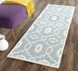 Product Image of Blue, Ivory (B) Moroccan Area Rug