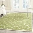 Product Image of Green, Ivory (N) Moroccan Area Rug