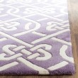 Product Image of Purple, Ivory (F) Transitional Area Rug
