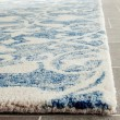 Product Image of Dark Blue, Ivory (C) Transitional Area Rug