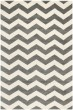 Product Image of Chevron Dark Grey, Ivory (D) Area Rug
