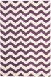 Product Image of Chevron Purple, Ivory (F) Area Rug