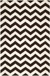 Product Image of Chevron Brown, Ivory (K) Area Rug