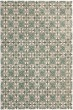 Product Image of Light Blue, Ivory (A) Moroccan Area Rug