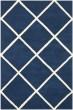 Product Image of Geometric  Dark Blue, Ivory (C) Area Rug