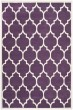Product Image of Contemporary / Modern Purple, Ivory (F) Area Rug
