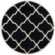 Product Image of Black, Ivory (K) Moroccan Area Rug