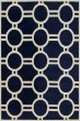 Product Image of Moroccan Dark Blue, Ivory (C) Area Rug