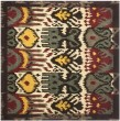 Product Image of Creme, Brown (A) Ikat Area Rug