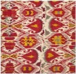 Product Image of Ivory, Red (A) Ikat Area Rug