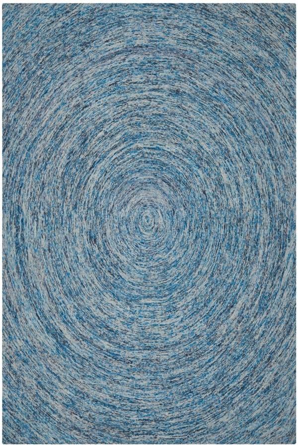 Dark Blue (A) Transitional Area Rug