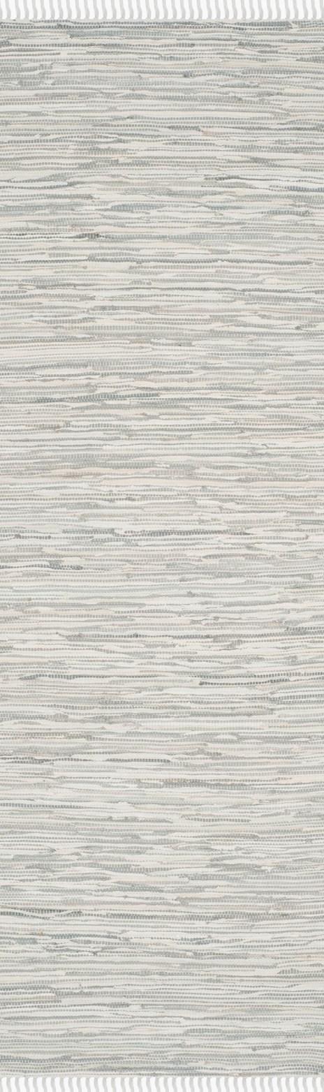 Silver (A) Rustic / Farmhouse Area Rug