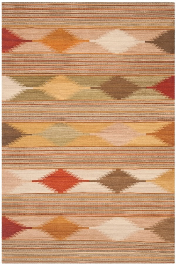 Natural (A) Southwestern / Lodge Area Rug