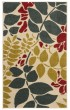 Product Image of Ivory, Blue (1265) Floral / Botanical Area Rug
