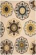 Product Image of Mandala Ivory, Blue (1265) Area Rug
