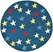 Product Image of Blue (A) Children's / Kids Area Rug