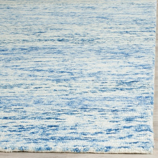 Blue (A) Transitional Area Rug