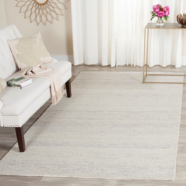 Silver (D) Transitional Area Rug