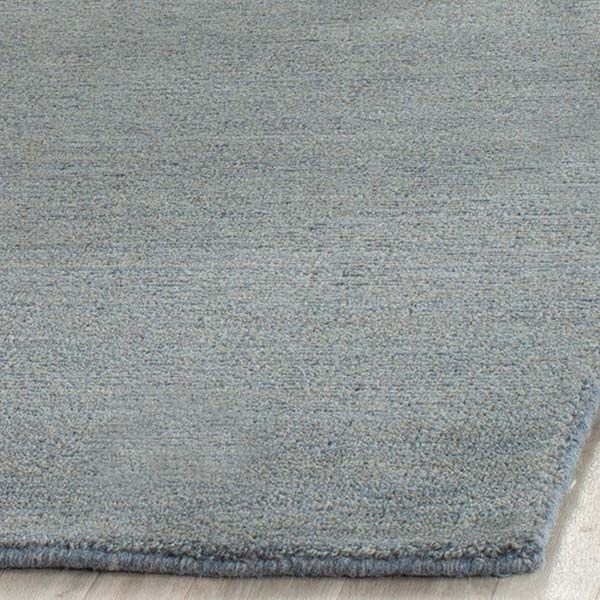 Blue (A) Solid Area Rug