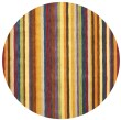 Product Image of Red, Yellow (A) Contemporary / Modern Area Rug