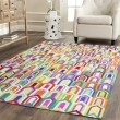 Product Image of Ivory (A) Contemporary / Modern Area Rug