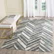 Product Image of Ivory, Dark Grey (A) Animals / Animal Skins Area Rug