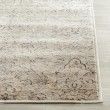 Product Image of Ivory, Grey (F) Damask Area Rug