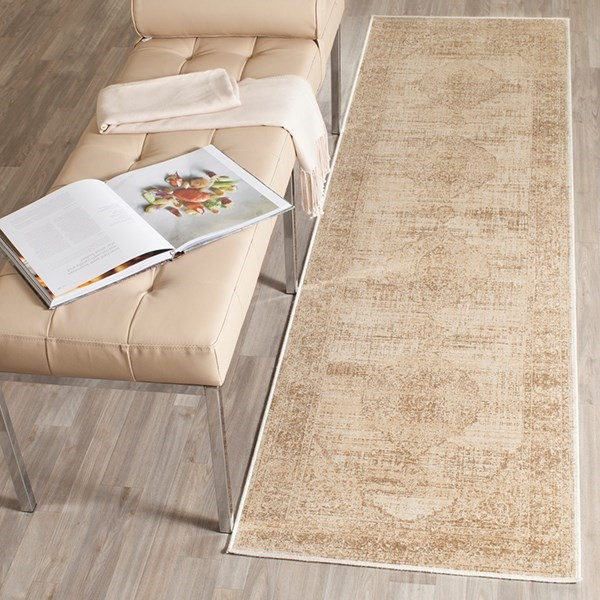 Creme (3440) Traditional / Oriental Area Rug