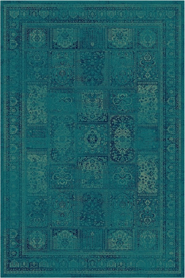Turquoise (2220) Traditional / Oriental Area Rug